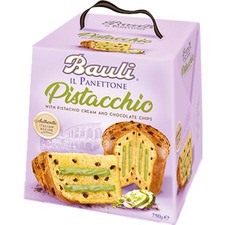 Il Panettone Pistacchio 750g/Bauli