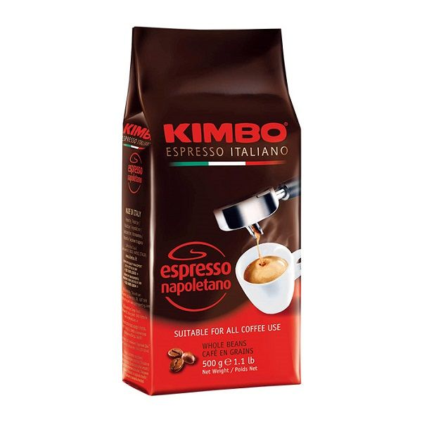 Caffe Espresso Napoletano ganze Bohnen 500 g/ Kimbo