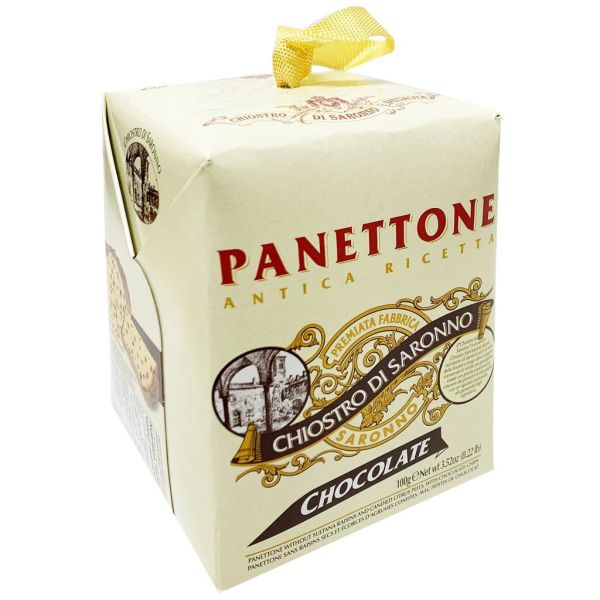 Panettone Cardbox Chocolate Chip 100g/ Paolo Lazzaroni