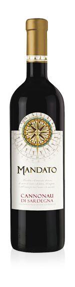 Mandato Cannonau di Sardegna Rosso DOC 2016 0,75l 14%/Enoitalia