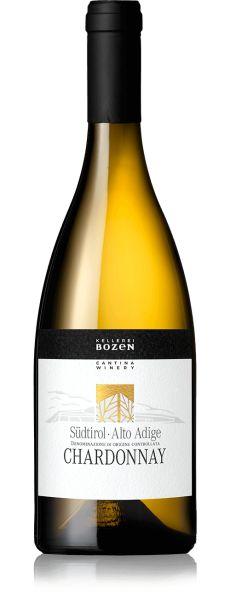 Chardonnay Südtirol Alto Adige DOC 0,75l 13% - 2019 / Kellerei Bozen
