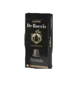 Caffe Kapsel Cremoso 10x5,5 g De Roccis