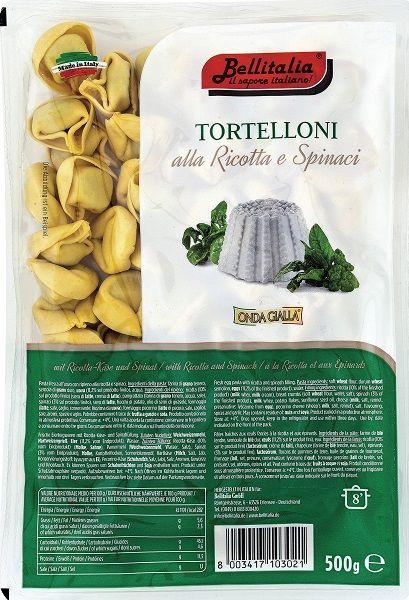 Tortelloni mit Ricotta und Spinat 500 g / Bellitalia