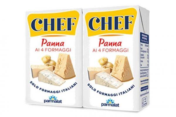 Panna ai 4 Formaggi 2x125ml. /Chef Parmalat