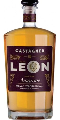 Grappa Leon Amarone Della Valpolicella 38 % 0,7l/Castagner