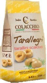 Tarallegri Patate e Rosmarin 250 g Colacchio