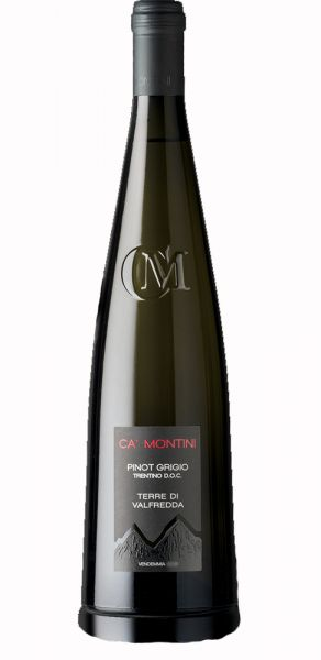 Pinot Grigio Trentino 2017 0,75l 12,5%/Ca Montini