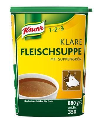 Klare Fleischsuppe 880 g /Knorr