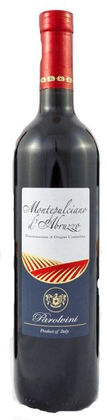 Montepulciano d Abruzzo 13 % 0,75L - 2015/ Parolvini
