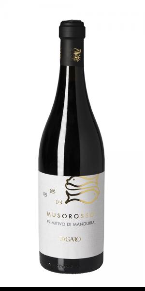 Muso Rosso Primitivo di Manduria DOP 0,75l 15% - 2017 / Tagaro