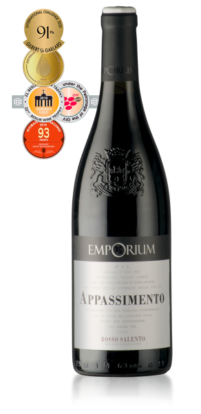 Emporium Appassimento Rosso Salento 0,75l 14,5% - 2019 / Enoitalia