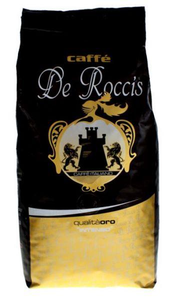 Caffe Elite 1 kg Beutel ganze Bohnen/ De Roccis