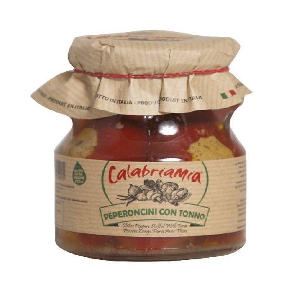 Peperoncini con Tonno 280g/Calabriamia