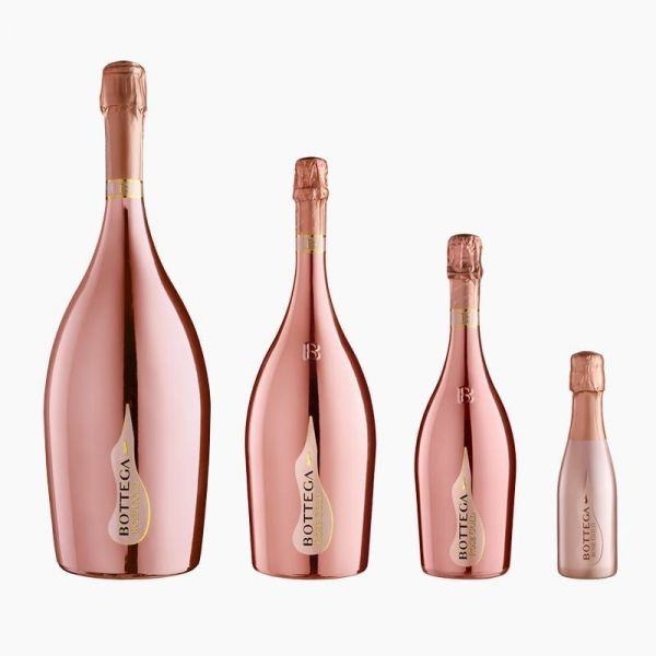 Rose Gold Pinot Nero Spumante Brut Rosé 0,2l 11,5% / Bottega