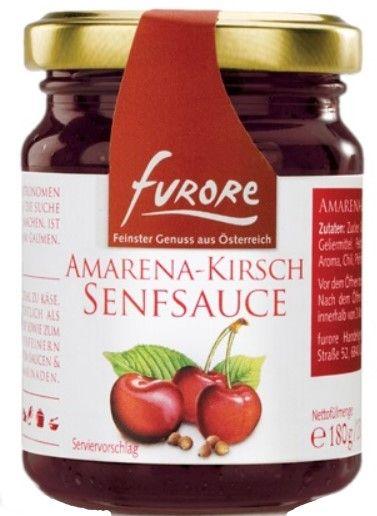Amarena-Kirsch Senfsauce 180g/Furore