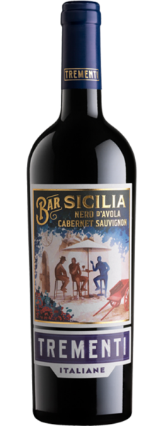 Sicilia Nero D´Avola Cabernet Sauvignon DOP 13,5% 0,75l - 2018 / Trementi