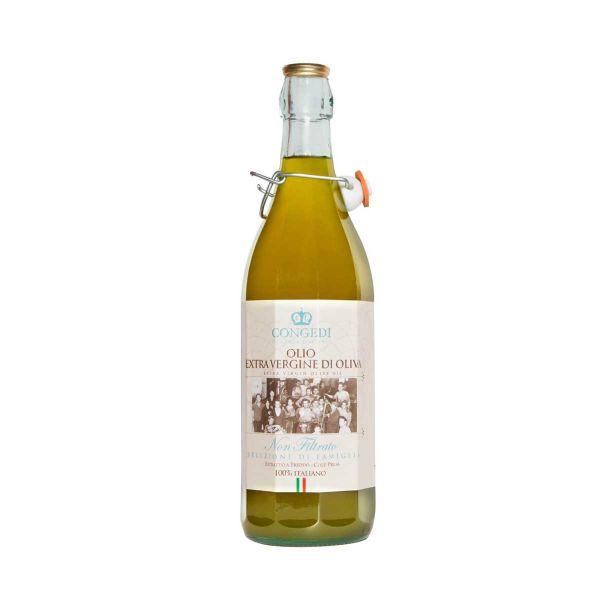 Olio Extra Vergine Olive Non Filtrato 500ml/Congedi
