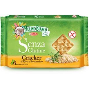 Cracker mit Rosmarin, glutenfrei 200g / Mulino Bianco