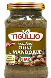 Pesto Olive e Mandorle 190 g Tigullio