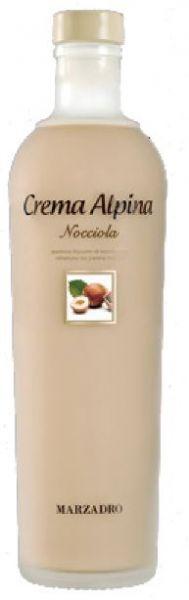 Crema Alpina Nocciola 0,2l 17% / Marzadro