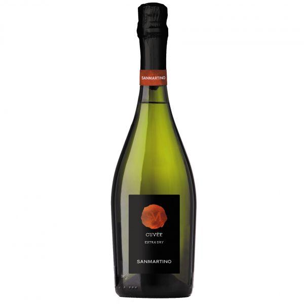 Vino Spumante bianco extra Dry Cuvee 0,75l /San Martino