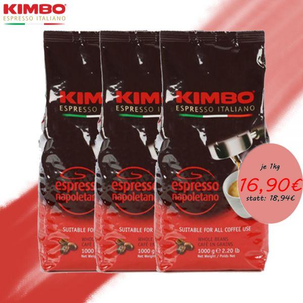 Caffe Kimbo Napoletano 1 Kg ganze Bohnen/Kimbo