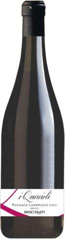 Quericioli Lambrusco Reggiano Dolce DOC rosso 8,5% 0,75l / Medici Ermete