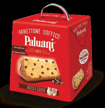 Panettone con Gocce di Cioccolato 750 g/ Paluani