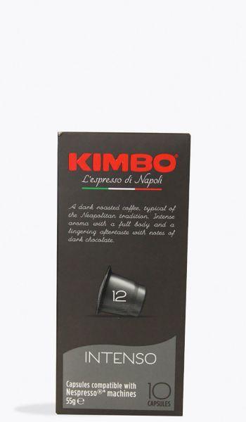 Nespresso Kapseln Intenso 10 Stück/ Kimbo