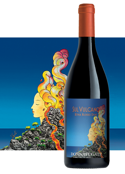 Sul Vulcano Etna Rosso DOC 0,75l 14% - 2017 / Donnafugata