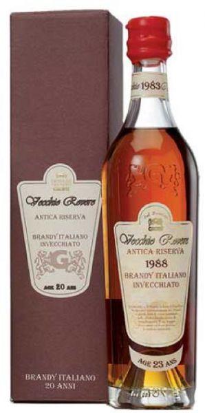 Grappe Vecchio Rovere 46% - 0,7l Brandy