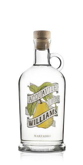 Grappa Aquavite Pere Williams 0,7l 40% / Marzadro