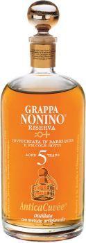 Grappa Antica Cuvée 5 Jahre 0,7 l 43%Alc.Nonio