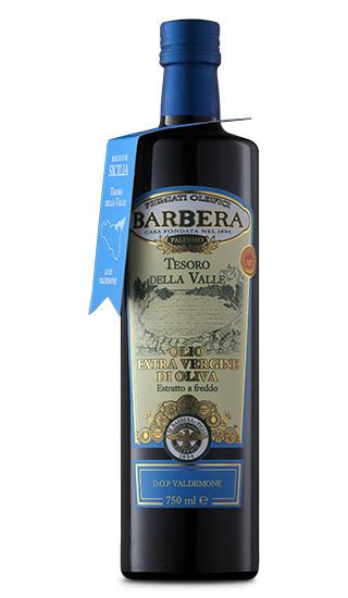 Olio extra Vergine di oliva Tesoro della Valle DOP Olivenöl 0,75l / Barbera