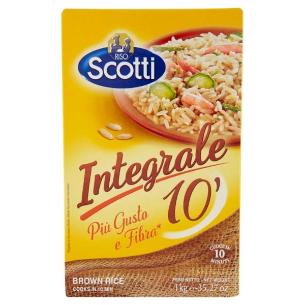 Risotto Integrale - Vollkorn Spitzenreis 1kg / Scotti