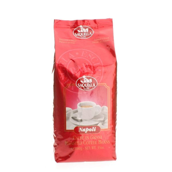 Caffe Napoli Bar 1 Kg ganze Bohnen/ Saquella