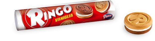Ringo Vaniglia 165 g /Pavesi