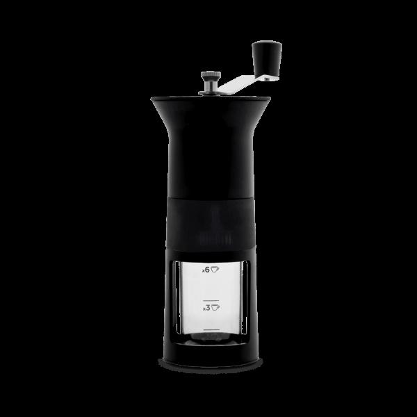 Kaffeemühle in schwarz/Bialetti