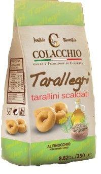 Tarallegri Finocchio 250 g Colacchio