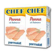 Panna al Salmone 2x125ml. /Chef Parmalat