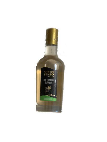 Aceto Bianco Balsamico di Modena BIO IGP Sesto Senso 0,25 l