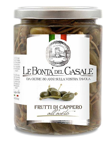 Frutti di cappero all'aceto 314ml/Le Bonta Del Casale