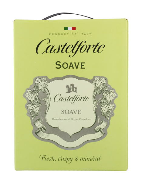 Soave DOC 2,25 Liter Bag in Box / Castelforte