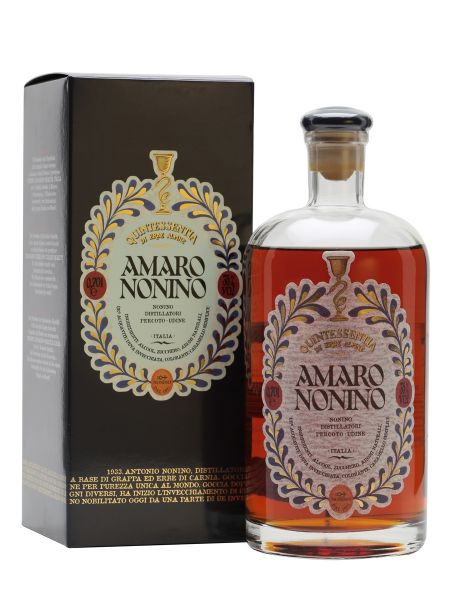 Grappa Amaro Quintessentina di Erbe 0,7 l 35%Alc.Nonio