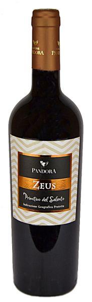 Primitivo del Salento Zeus 14,5 % 0,75 Liter 2017/Cantine Pandora
