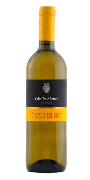 Obello Bianco Doc Semi dry 0,75l - 2016