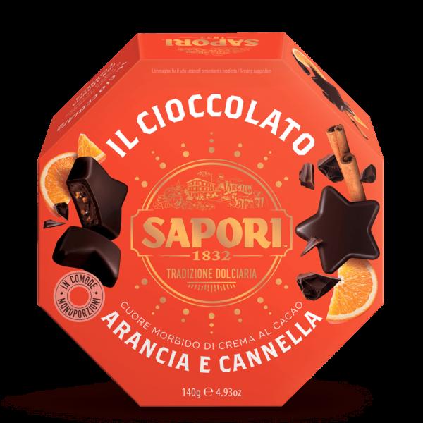 Praline Arancia e Cannella 140g / Sapori