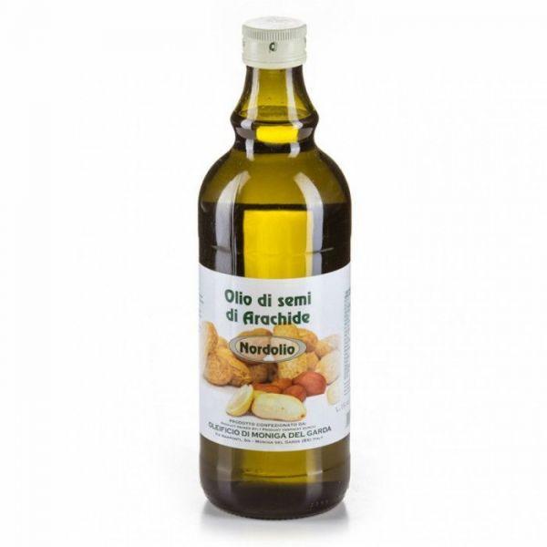 Olio di Semi di Arachide Erdnussöl 1,0l / Oleificio di Moniga del Garda