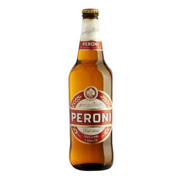Birra Peroni Bier 0,66 Liter Flasche/Peroni
