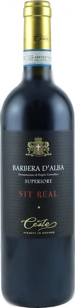 Barbera d Alba Superiore Sit Real 16,5% 0,75 Liter 2016 / Ceste